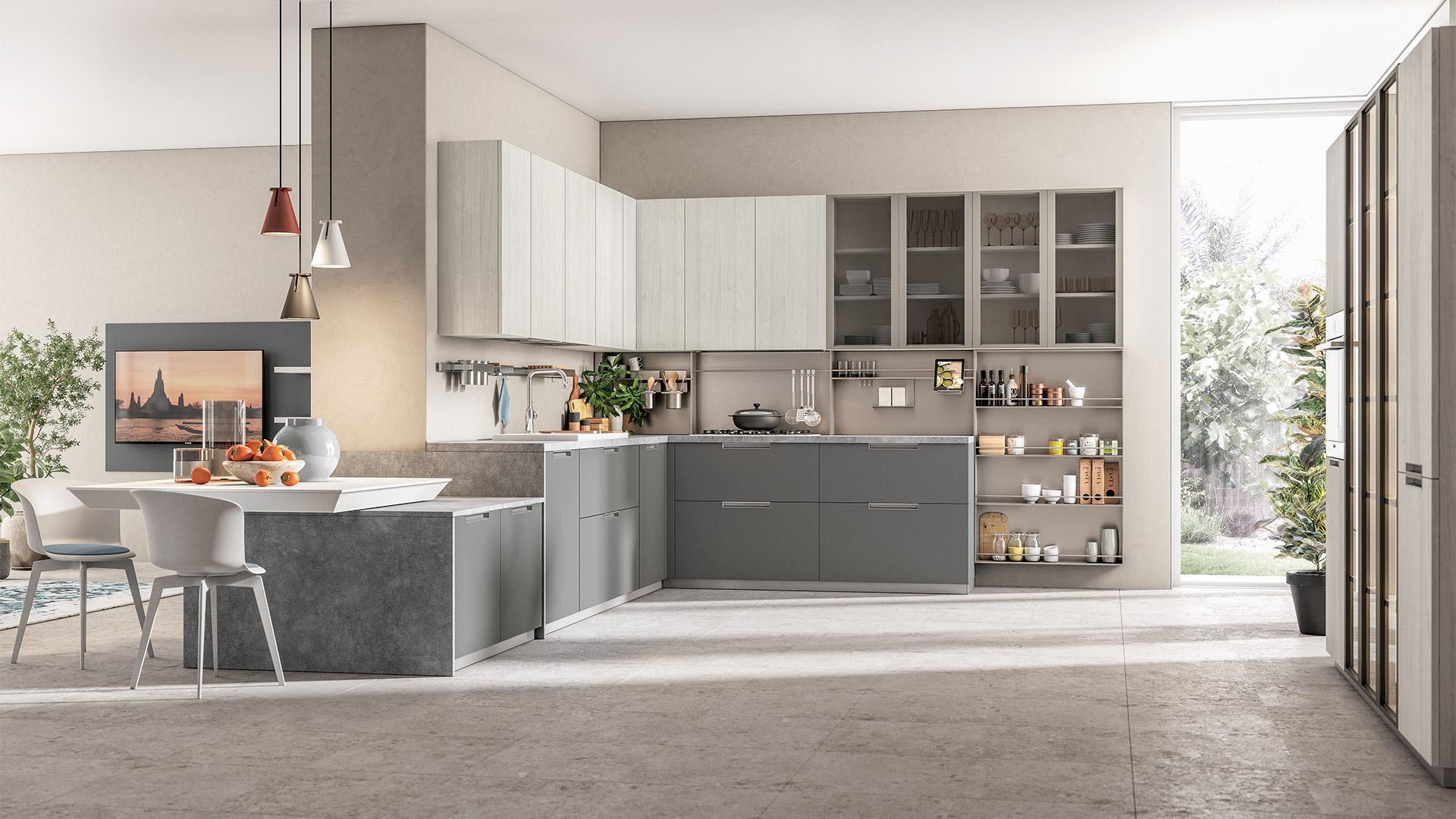 Cucine Lube Creativa : Immagina plus cucine lube roma e nuova linea creo kitchens
